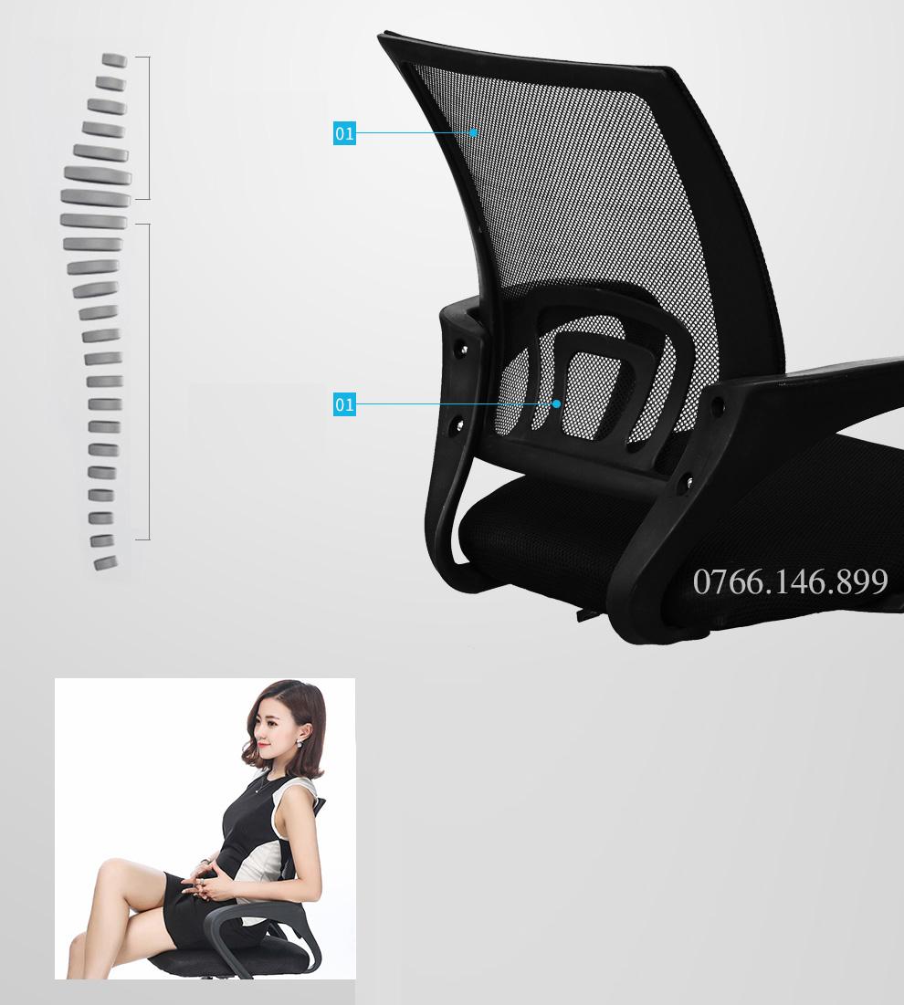 Mang lại sự thoải mái trong khi làm việc - Ghế E0 - Normaline - Thiên Minh Furniture
