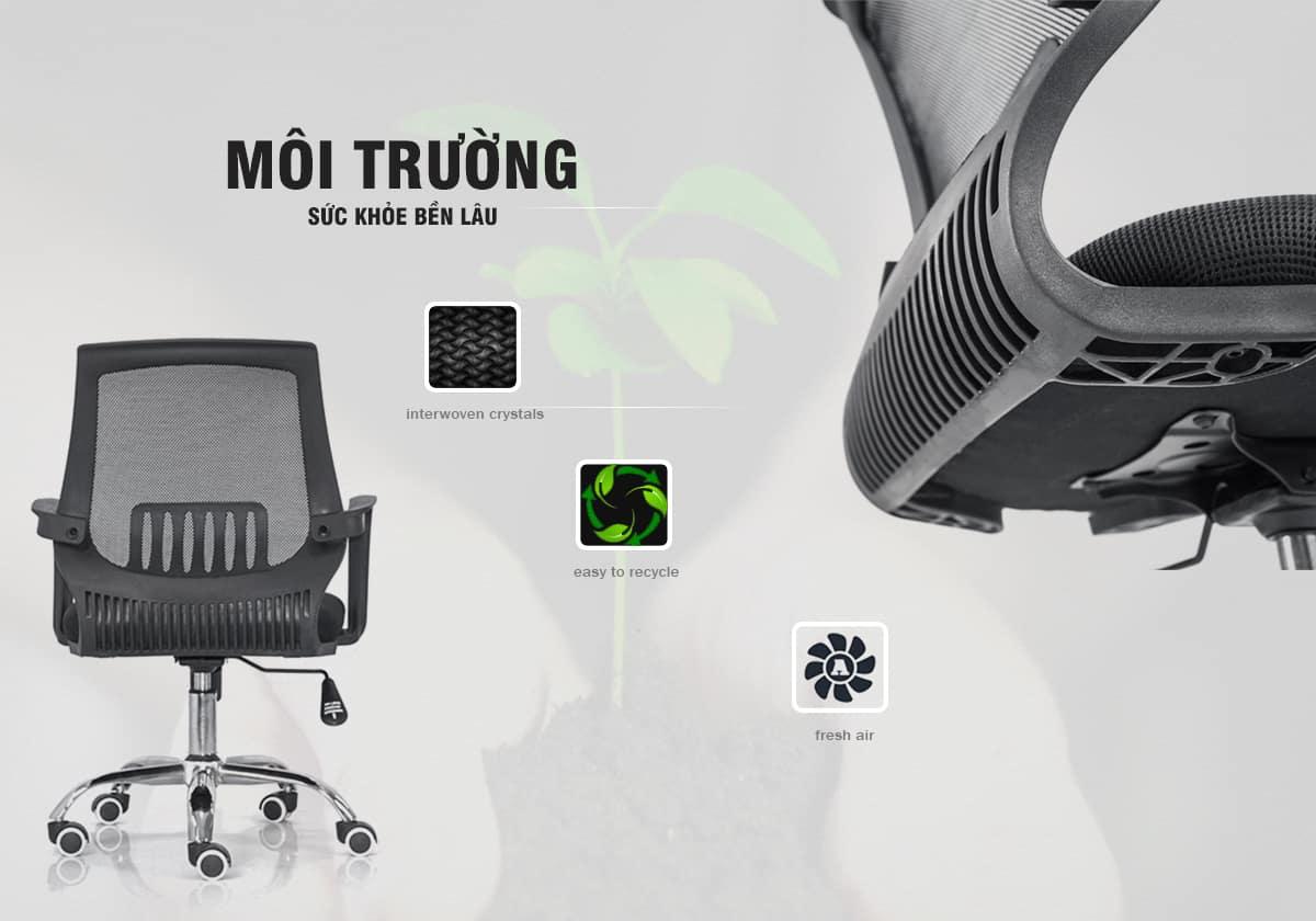 Nguyên Liệu – Ghế PL - Normaline – Ghế Văn Phòng – Thiên Minh Furniture