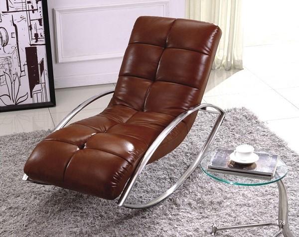 Ghế nằm để thư giãn chân inox