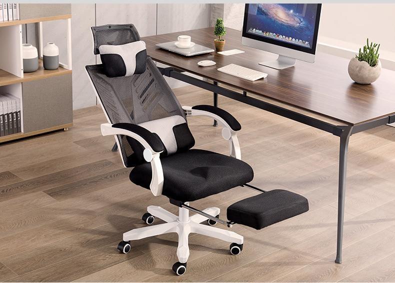 Dòng ghế cao cấp có cả tựa đầu và chỗ để chân