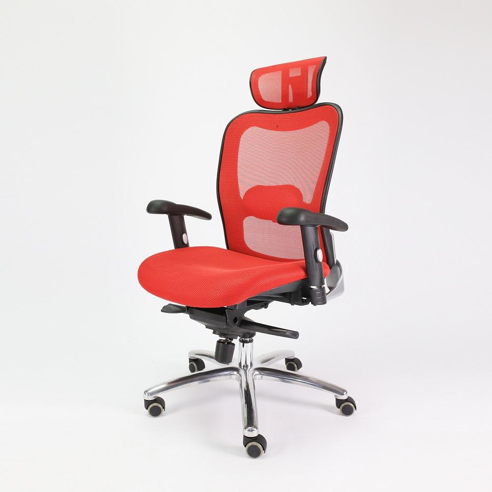 Ghế xoay văn phòng màu đỏ tạo điểm nhấn độc đáo cho văn phòng - 3