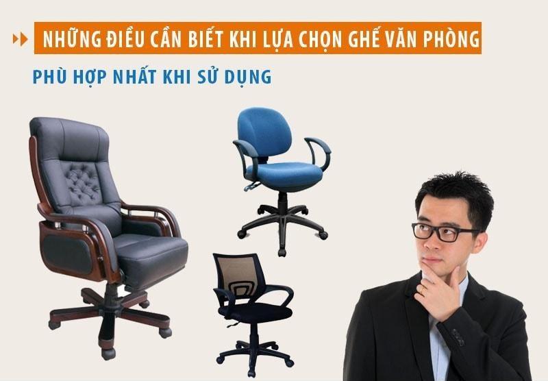 Nên lựa chọn địa chỉ cung cấp ghế văn phòng nào?