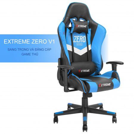 Ghế Gaming Extreme Zero V1 Xanh Blue